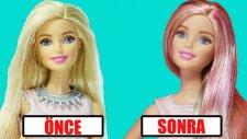 Barbie Saç Boyama   Nasıl Yapılır   Saç Bakımı   EvcilikTV