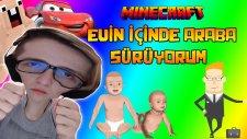 Çocuğum Evin İçinde Araba Sürüyor!! - Minecraft Who's Your Daddy -Ahmet Aga