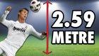 Ronaldo Kadar Zıplayıp Topa Kafa Atmayı Denedik - Oha Diyorum