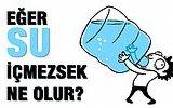 Eğer Su İçmezsek Vücudumuza Ne Olur