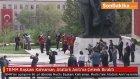 TBMM Başkanı  İsmail Kahraman, Atatürk Anıtı'na Çelenk Bıraktı