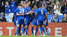 Leicester City 4-0 Swansea City - Maç Özeti izle (24 Nisan Pazar 2016)
