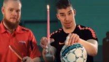 Masa Tenisi İle Futbol Birleştirdiler