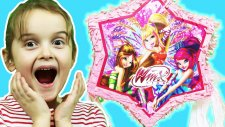 Winx Club | Çocuklarla Pinyata Oyunu ve Sürpriz Oyuncaklar | EvcilikTV