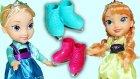 Frozen Karlar ülkesi Karakterleri Prenses Anna ve Kraliçe Elsa Oyuncak Tanıtımı | EvcilikTV