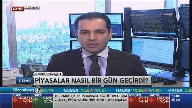 25.04.2016 - Bloomberg HT - 3. Seans - GCM Menkul Kıymetler Araştırma Müdürü Dr. Tuğberk Çitilci