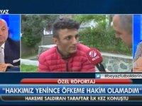 Hakeme Saldıran Trabzonlu Taraftarla Röportaj Yapılması