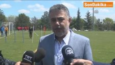 Eskişehirspor Kulübü Başkanı Mesut Hoşcan:
