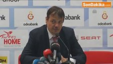 Şampiyon Galatasaray Odeabank - Galatasaray Odeabank Başantrenörü Ataman