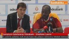 Şampiyon Galatasaray Odeabank - Stephane Lasme