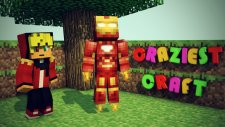 İnanılmaz Demir Adam! Ve Stark Kulesi! - (Minecraft Craziest Craft: #26)