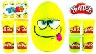 Toto Emoji DEV Sürpriz Yumurta Açma Oyun Hamuru Oyuncak Abi