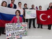 Türk ve Rus Dostluğuna Atıfta Bulunan Klip