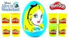 Alice Harikalar Diyarında Oyun Hamuru DEV Sürpriz Yumurta Açma Frozen Winx Oyuncakları