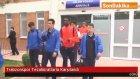 Trabzonspor Tezahüratlarla Karşılandı