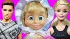 Barbie ve Ailesi Maşa'nın ikiz kardeşi geliyor | Barbie  izle | Evcilik TV