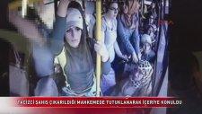 Kocaeli'nde Halk Otobüsünde Yaşanan Taciz Görüntüleri