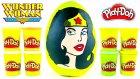Wonder Woman Dev Sürpriz Yumurta Açma Oyun Hamuru -  Dc Justice League Figz Oyuncakları