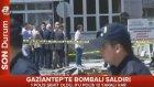 Gaziantep'te Bomba Yüklü Araç Patlatıldı!