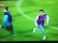 Hakeme Saldıran Taraftara Uçan Tekme Atan Futbolcu