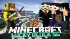 Ismetrg Vs Team & Hacker (Minecraft : Şans Blokları Savaşı) W/ısmetrg