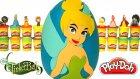 Tinker Bell Sürpriz Yumurta Oyun Hamuru - Disney Perileri Cicibiciler Emoji Polly Pocket