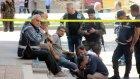 Gaziantep'te Polisler Şehit ve Yaralı Arkadaşları için Gözyaşı Döktü