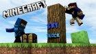 SERDARIN GİZLİ HİKAYESİ!! - Minecraft Skyblock - Bölüm 3 - Kakao Büyütmeceler