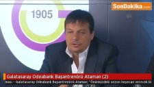 Galatasaray Odeabank Başantrenörü Ataman (2)