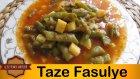 Taze Fasulye Tarifi | Patatesli Taze Fasulye Nasıl Yapılır ? - Leziz Yemek Tarifleri