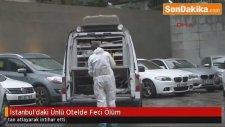 İstanbul Beşiktaş'ta  Ünlü Otelde Feci Ölüm