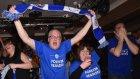 Leicester City taraftarı şampiyonluk gelince çıldırdı