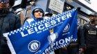 Leicester taraftarları şampiyonluk turunda