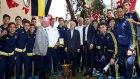 Fenerbahçeli sporcular evi açıldı