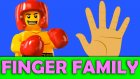 Lego Boxer New Finger Family Nursery Rhymes - Fingerfamily