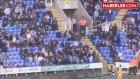 Reading - Preston Maçında Topu Almaya Çalışan Taraftar, Tüm Stada Rezil Oldu