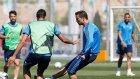 Ronaldo'nun antrenmanda attığı harika aşırtma golü