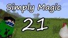 Simply Magic | Bölüm 21 | Thaumcraft araştırmaları