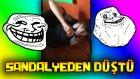 Arkadaşımı Video Çekerken Korkuttum! - Sandalyeden Düştü!! :d