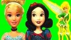 Farklı Bir Külkedisi Hikayesi! - Pamuk Prenses ve Tinker Bell Sindirella'ya Yardım Ediyor!