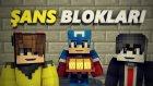 Kaptan Amerika İç Savaş Başlıyor! - Minecraft Kaptan Amerika İç Savaş Şans Blokları Yarışı ! - İlove