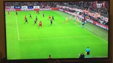 Robert Lewandowski'nin Atletico Madrid'e attığı gol