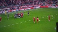 Xabi Alonso'nun Atlético Madrid'e attığı frikik golü