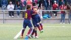 Barcelona'lı çocuklardan çılgın goller