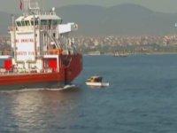 Dev Geminin Balıkçı Teknesine Çarpması