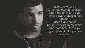 Drake - One Dance feat. Kyla & Wizkid (Lyrics)