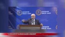 İsmail Kahraman: Cumhuriyet'i Kuranlar Dinsizleştiler, Pozitivisttiler...