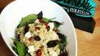 Badem, Yaban Mersini ve Ezine Peynirli Kinoa Salatası