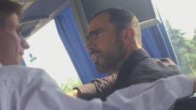 Özkaymak Turizm - Kaçak Alınan Suriyeli Yolcu Muavin Kavgası
