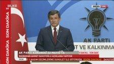 Davutoğlu - Başbakanlığı Bıraktığını Açıklaması